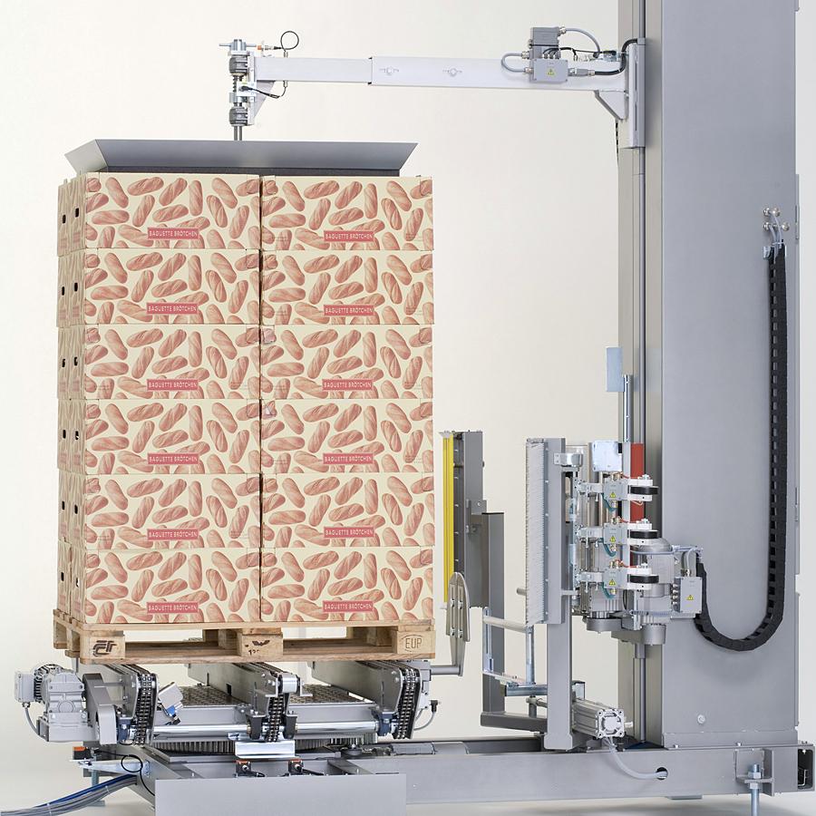 LIGAT-LITOMAT V300 - vollautomatische Stretchfolien-Verpackungsanlage