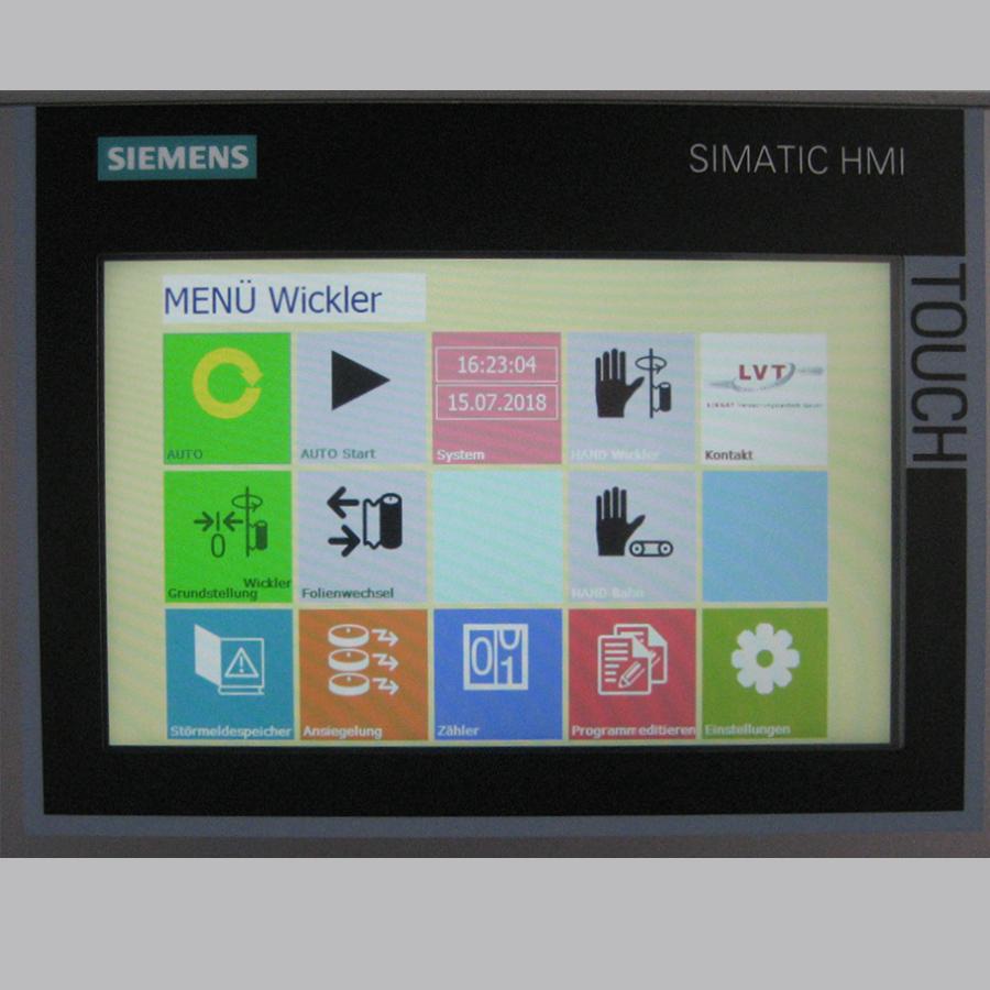 LIEGAT-LITOMAT V300 - vollautomatische Stretchfolien-Verpackungsanlage
